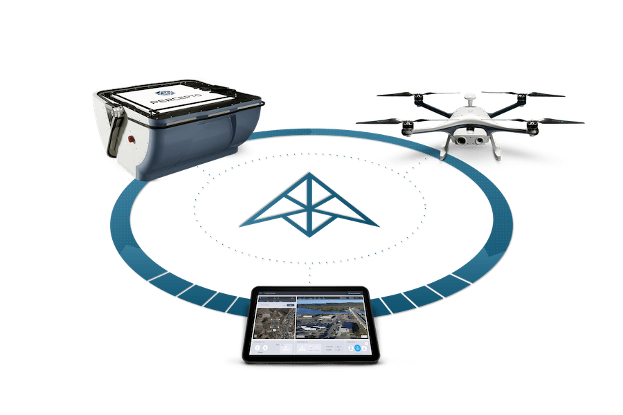 The Percepto System Drone in a box