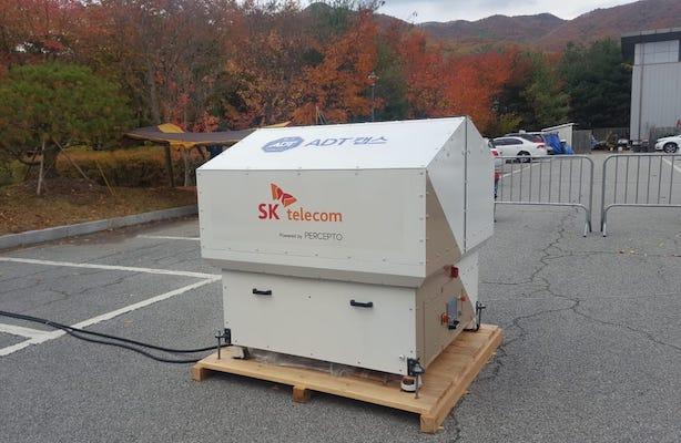 SK Telecom's 5G trial network