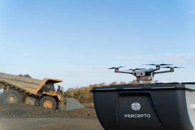 Percepto's Drone